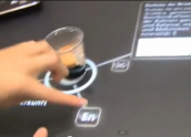 Atrac multitouch table